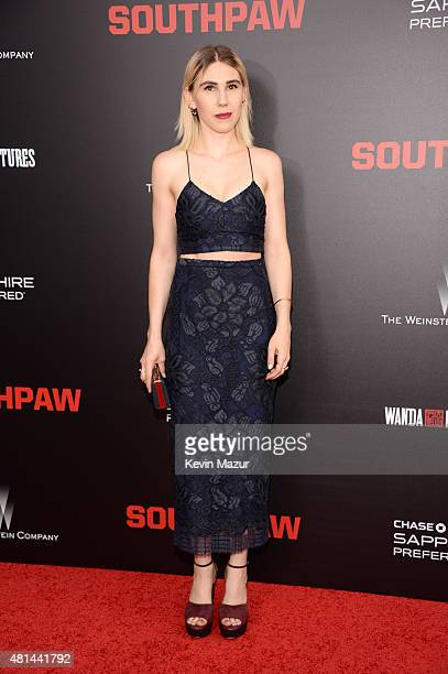 "Zosia Mamet attends the ""Southpaw"" New York premiere at AMC Loews Lincoln Square on July 20, 2015 in New York City."