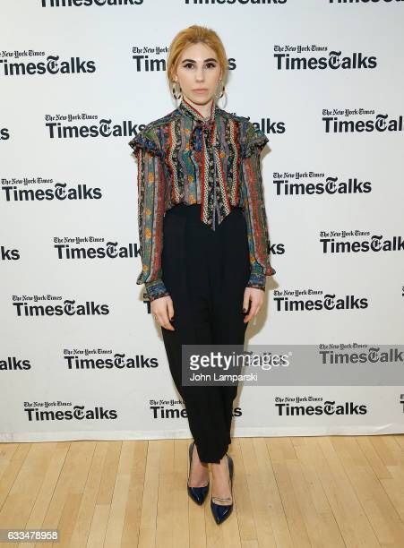 Zosia Mamet attends TimesTalks A Final Farewell to the cast of HBO's 'Girls' at NYU Skirball Center on February 1 2017 in New York City