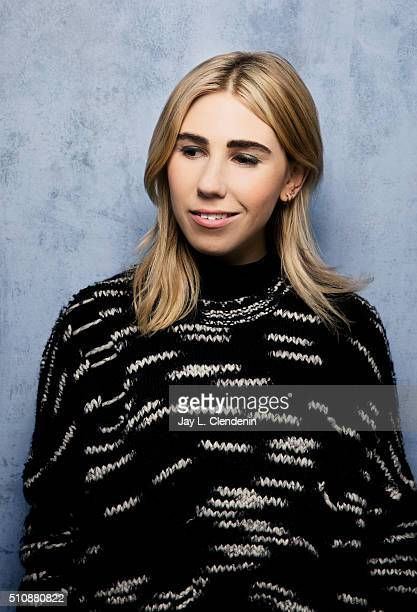 Zosia Mamet from the film 'Weiner Dog' poses for a portrait at the 2016 Sundance Film Festival on January 24 2016 in Park City Utah CREDIT MUST READ...