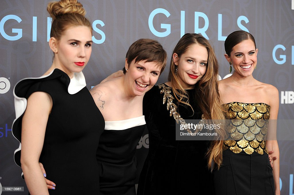 HBO Hosts The Premiere Of 'Girls' Season 2 - Inside Arrivals : News Photo