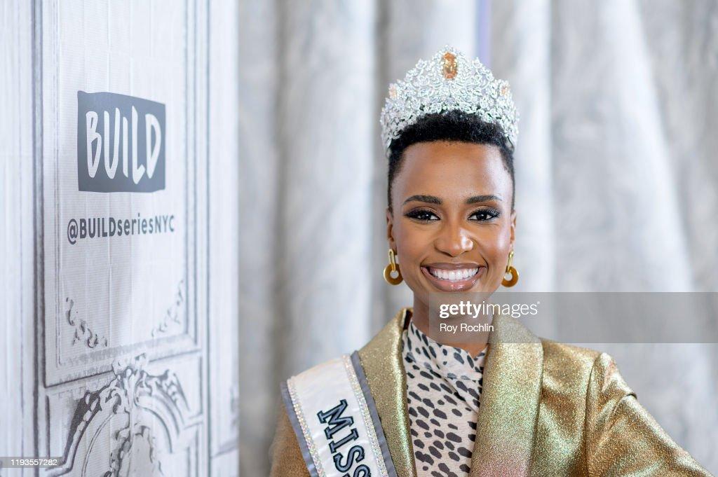 Celebrities Visit Build - December 12, 2019 : News Photo