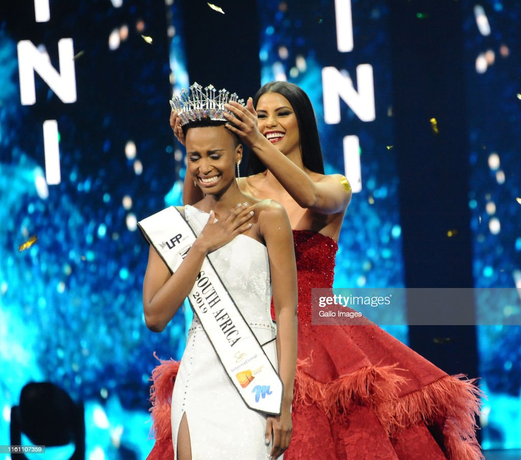 The 2019 Miss South Africa grand finale : News Photo