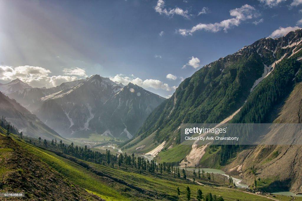 Zozila pass in Ladakah, Jammu and Kashmir, India : Stock Photo