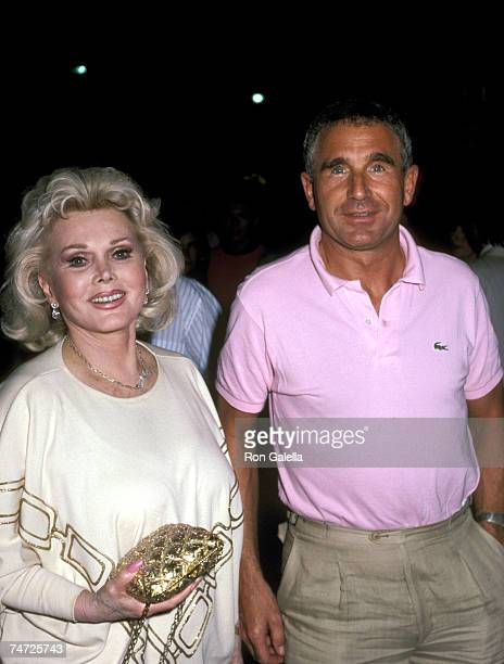 Zsa Zsa Gabor and Prince Von Anhalt at the Beverly Hilton Hotel in Beverly Hills California