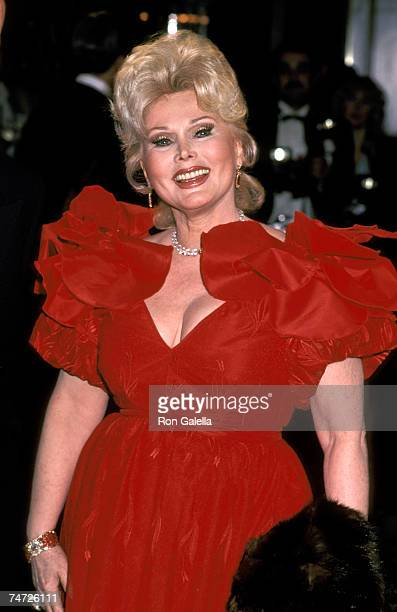 Zsa Zsa Gabor at the Beverly Hilton Hotel in Beverly Hills California