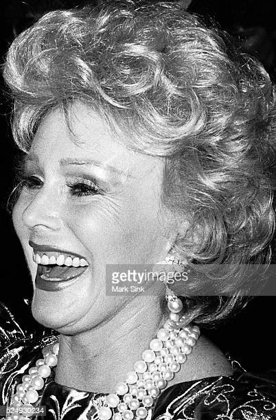 Zsa Zsa Gabor Carousel Ball Denver Co 1983 Nikon F3 Trix F/16 Scanned from silver print 2006 Prints signed numbered and dated on verso