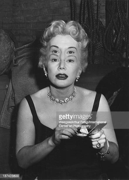 Zsa Zsa Gabor twentieth century Photo by Weegee/International Center of Photography/Getty Images