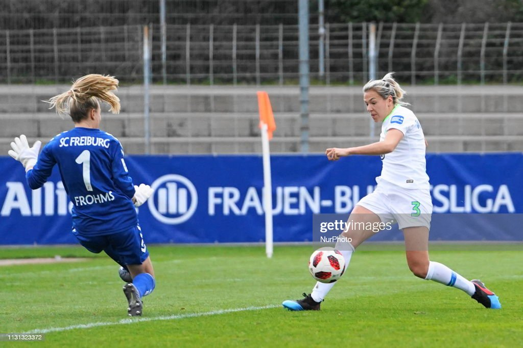 SC Freiburg v Vfl Wolfsburg - Allianz Frauen Bundesliga : News Photo