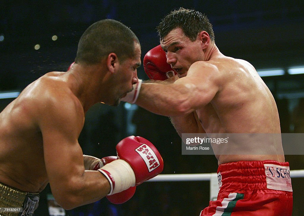 WBO World Championship Zsolt Erdei v Danny Santiago : News Photo