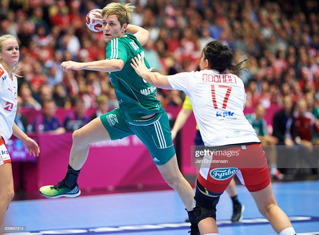 Hungary v Denmark - 22nd IHF Women's Handball World Championship