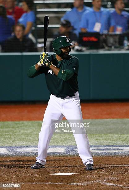 Zubair Nawaz of Team Pakistan bats during Game 4 of the 2016 World Baseball Classic Qualifier at MCU Park on Friday September 23 2016 in the Brooklyn...