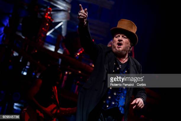 Zucchero perform on stage on March 7 2018 in Rome Italy