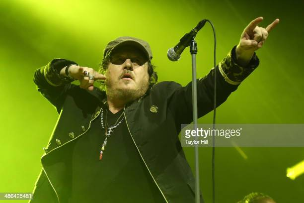 Zucchero performs at The Theater at Madison Square Garden on April 23 2014 in New York City