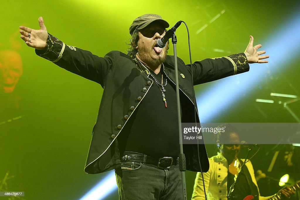 Zucchero performs at The Theater at Madison Square Garden on April 23, 2014 in New York City.