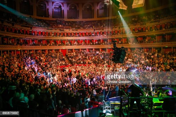 Zucchero performs on stage at the Royal Albert Hall on 21 October 2016 in London United Kingdom