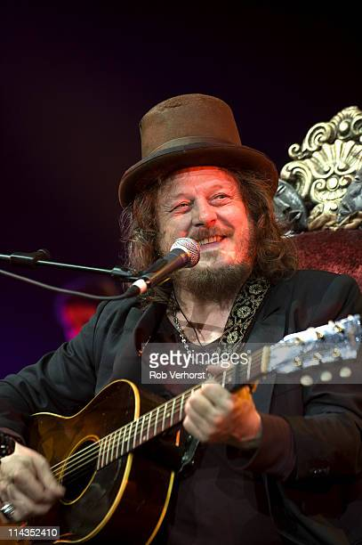 Zucchero performs on stage on his Chocabeck World Tour 2011 at Ahoy on May 18 2011 in Rotterdam Netherlands