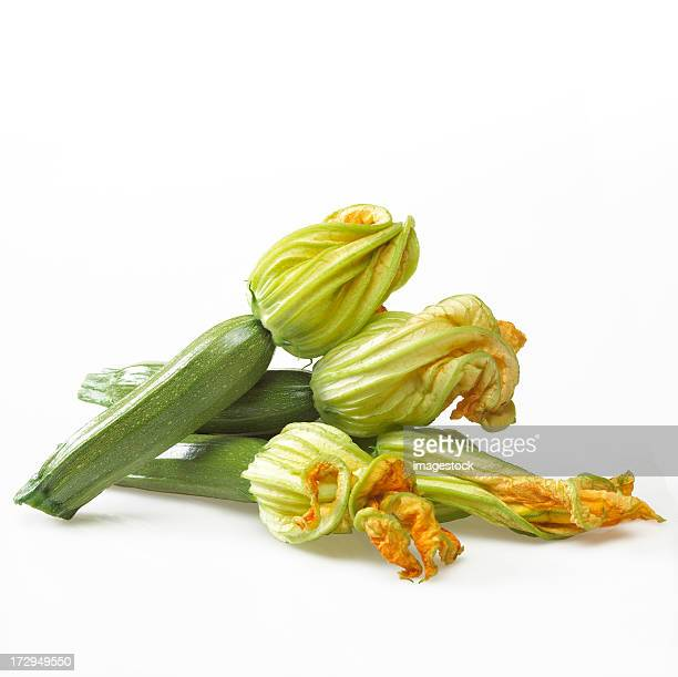 Zucchinis with flower