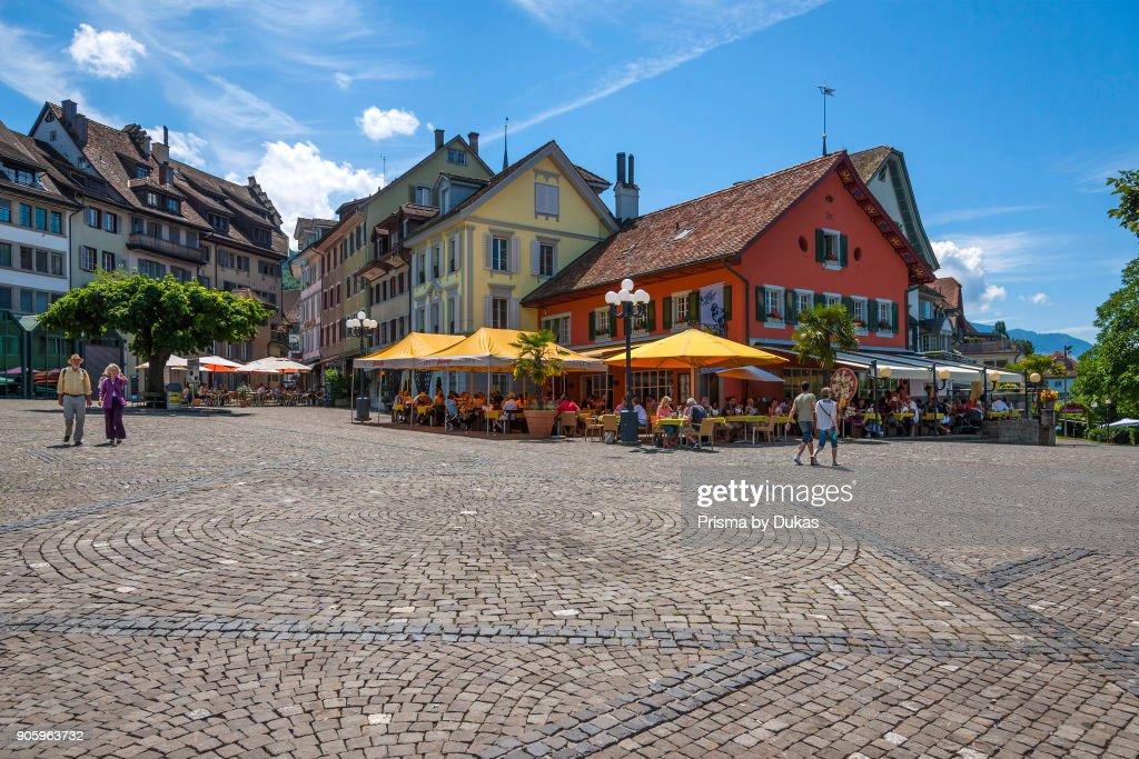Zug, Canton of Zug, Switzerland Landsgemeindeplatz. News Photo ...