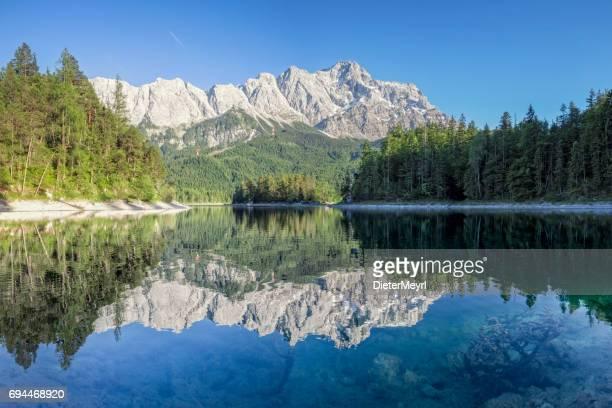 Zugspitze und Eibsee-Garmisch-Partenkirchen, Bayern