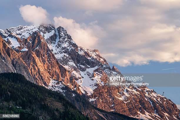 Zugspitze evening view