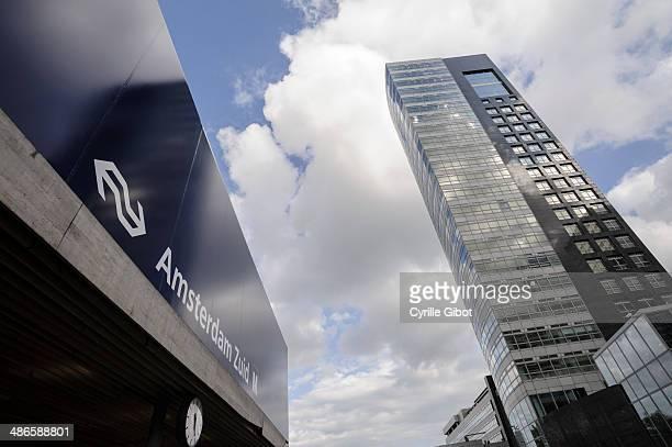 Zuidas business district, Amsterdam, Netherlands