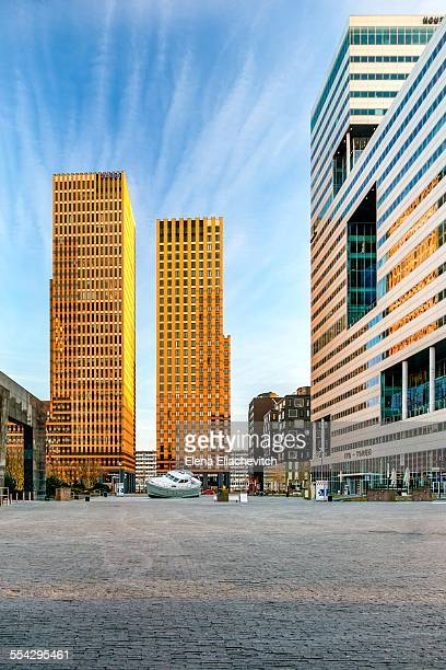Zuidas business district, Amsterdam, Netherlands