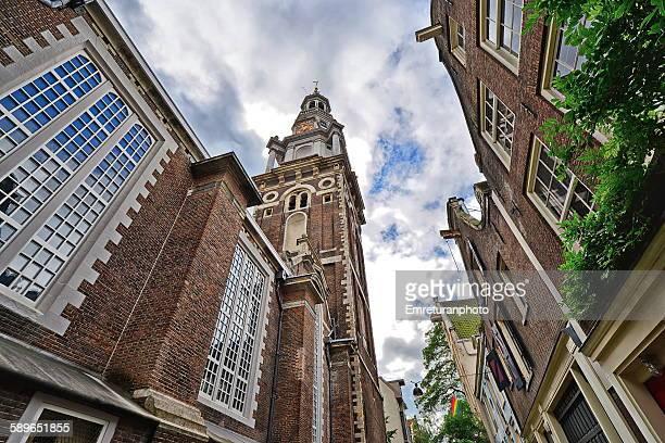 zuider kerk (church) in nieuwmarkt - emreturanphoto bildbanksfoton och bilder