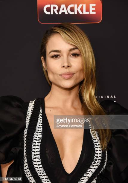Zulay Henao arrives at Sony Crackle's 'The Oath' Season 2 exclusive screening event at Paloma on February 20 2019 in Los Angeles California