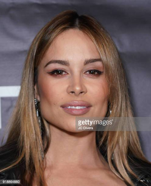 Zulay Henao attends Regard Magazine 2018 NBA AllStar PreParty hosted by Derek Fisher at Soho House on February 15 2018 in West Hollywood California