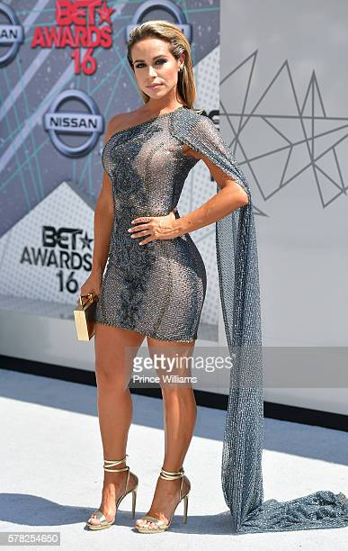Zulay Henao attends the 2016 BET awards at Microsoft Theater on June 26 2016 in Los Angeles California