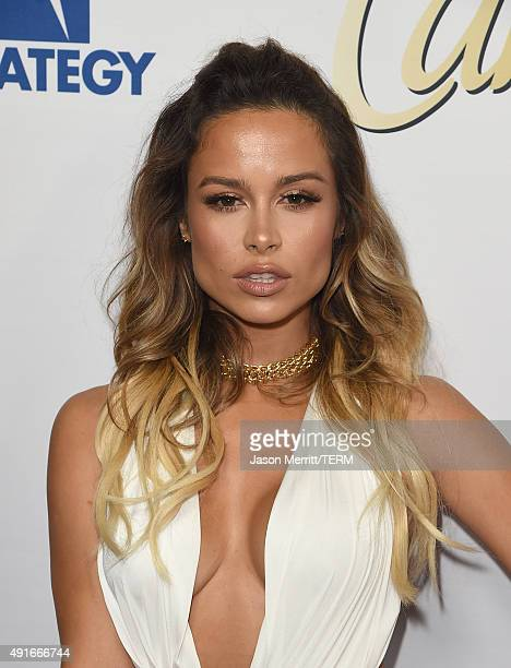 Zulay Henao attends the Latina 'Hot List' Party hosted by Latina Media Ventures at The London West Hollywood on October 6 2015 in West Hollywood...