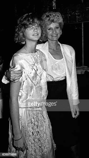 Zuleika Bronson and Jill Ireland attend Lace II Party on April 30 1985 at Regine's in New York City