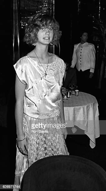 Zuleika Bronson attends Lace II Party on April 30 1985 at Regine's in New York City