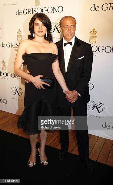 Zuleikha Robinson and Fawaz Gruosi during 2007 Cannes Film Festival de Grisogono Party at Hotel du Cap in Cannes France