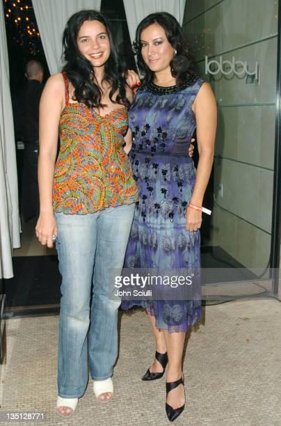 Zuleikha Robinson and Jennifer Tilly at the Motorola Late Night Lounge at the Toronto Film Festival