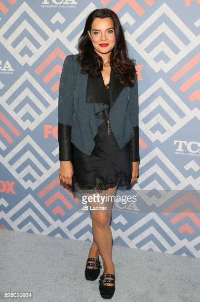 Zuleikha Robinson attends the 2017 Summer TCA Tour 'Fox' on August 08 2017 in Los Angeles California