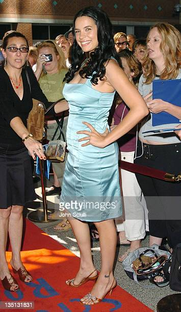 Zuleikha Robinson during 2004 Toronto International Film Festival 'Merchant of Venice' Premiere at Elgin Theatre in Toronto Ontario Canada
