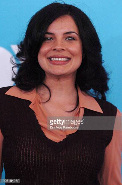 Zuleikha Robinson during 2007 FOX UpFront Arrivals at Wollman Rink in Central Park in New York City New York United States