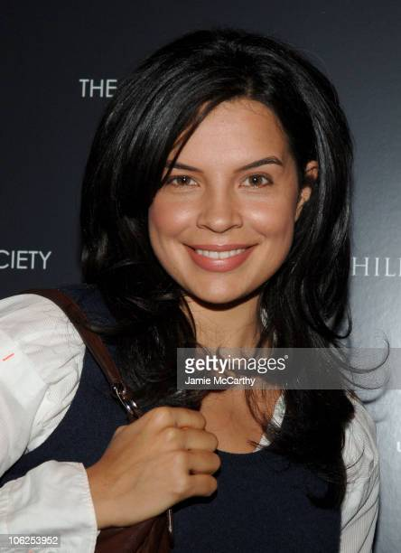 Zuleikha Robinson during The Cinema Society and GQ Host a Screening of 'Children of Men' Arrivals at Tribeca Grand Screening Room in New York City...