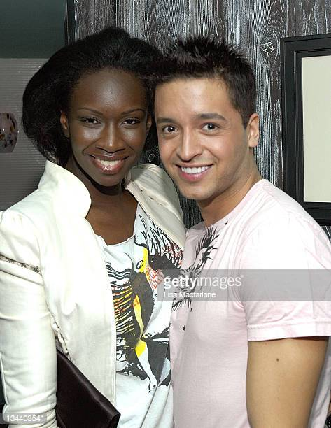 Zulema Griffin of 'Project Runway 2' with Jai Rodriguez