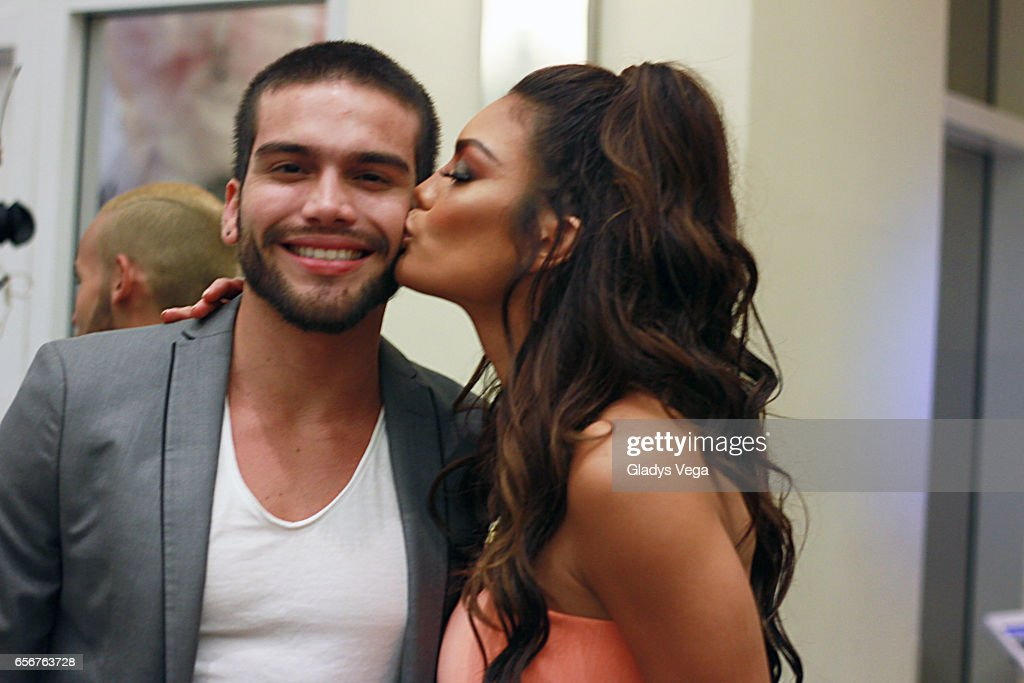 Zuleyka Rivera and her brother Jerry Rivera attends TV y Novelas, 'Divinas y Humanas' special edition celebration on March 22, 2017 in San Juan, Puerto Rico.