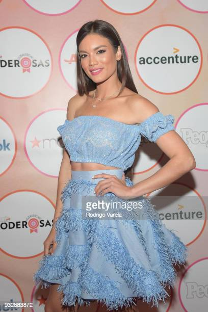 Zuleyka Rivera arrives at the People en Espanol's 25 Most Powerful Women Luncheon 2018 on March 16 2018 in Miami Florida