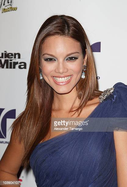 Zuleyka Rivera attends screening of Telemundo's 'Alguien Te Mira' at The Biltmore Hotel on September 7 2010 in Coral Gables Florida