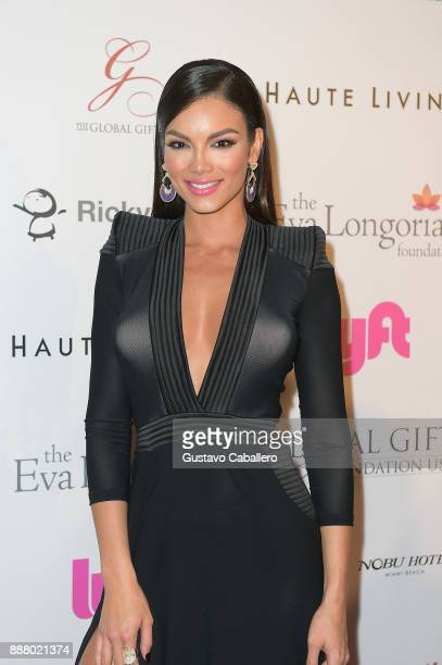 Zuleyka Rivera attends the Art Basel Miami Beach 2017 The Global Gift Foundation USA Benefit Hurricane Relief Efforts In Puerto Rico And Florida at...