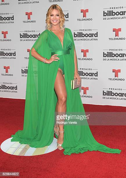 Zuleyka Rivera attends the Billboard Latin Music Awards at Bank United Center on April 28 2016 in Miami Florida