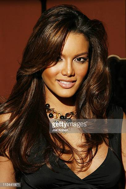 Zuleyka Rivera during Design Industries Foundation Fighting AIDS Dining by Design Benefit February 262007 at The Waterfront Building in New York City...
