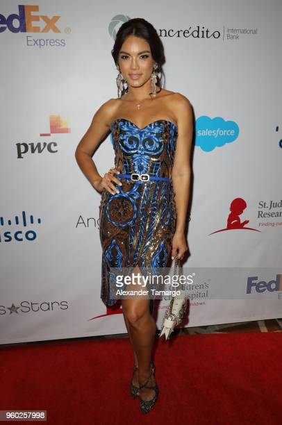 Zuleyka Rivera is seen at the 16th Annual FedEx/St Jude Angels Stars Gala on May 19 2018 in Miami Florida