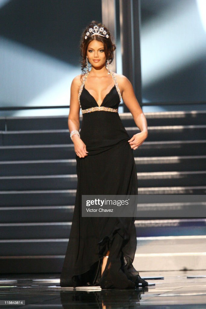 Zuleyka Rivera, Miss Universe 2006 during Miss Universe 2007 - Show at Auditorio Nacional in Mexico City, Mexico City, Mexico.