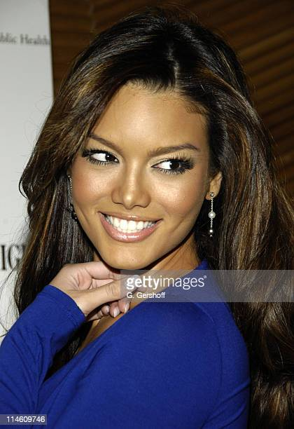 Zuleyka Rivera Miss Universe 2006 during Quincy Jones Honored by Harvard School of Public Health as Its FirstEver 'Mentor of the Year' at The Core...