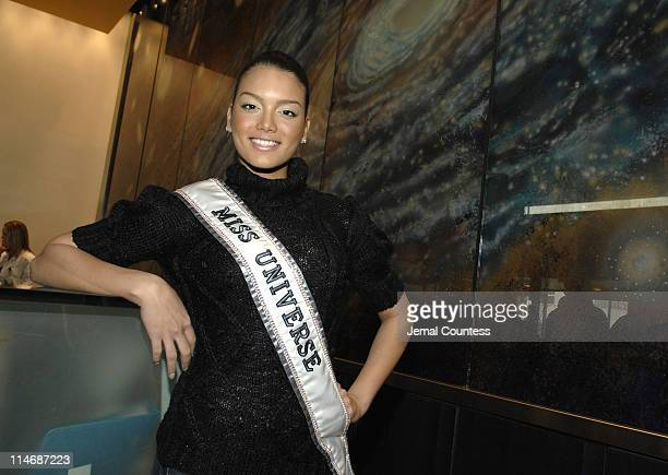 Zuleyka Rivera Miss Universe 2007 at Children's Hospital at Montefiore on January 30 2006 in Bronx New York